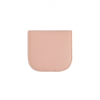 Portefeuille Dome rose