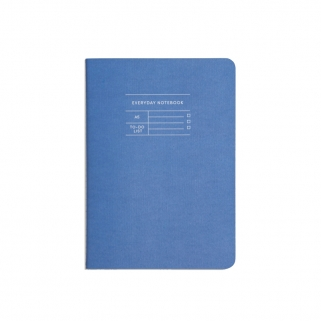 Blue everyday notebook in...
