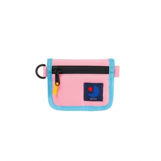 Pink/blue Coiney wallet