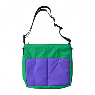 Lively bag purple & green