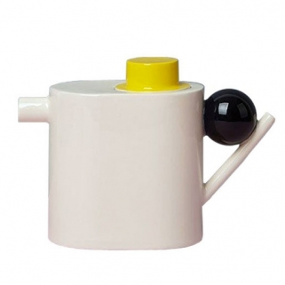 Yellow lid teapot