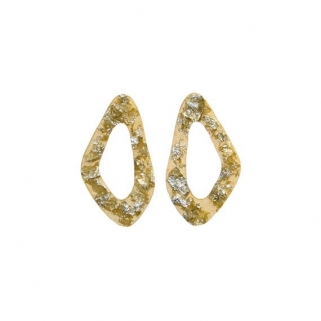 Pan de plata small earrings