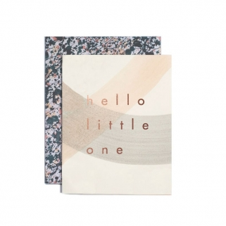 Hello little one postcard