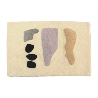 Talking rocks bathmat