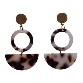 Tortoise Alexandrie earrings