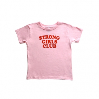 Kids Strong Girls Club tee