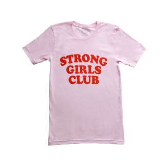 Strong Girls Club tee