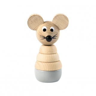 Cecil Wooden Stacking mouse...