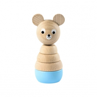 Edward Blue Wooden Stacking...
