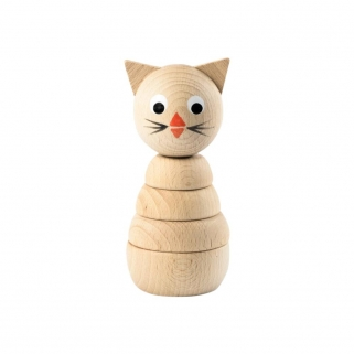 Camilla Wooden Cat Stacking...