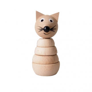 Felix Wooden Fox Stacking Toy