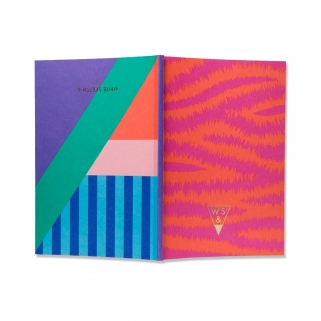 Super zebra notebook