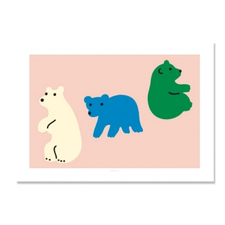 Rolling bears poster