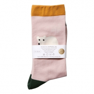 Chaussettes Bear rose