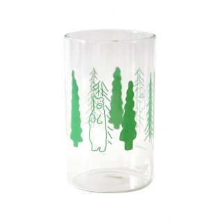 Trees & Bears glass