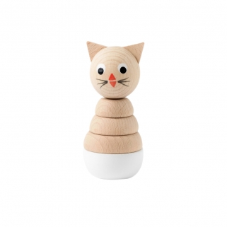 Charlotte Wooden Cat...