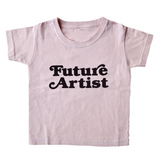 T-shirt Future Artist rose