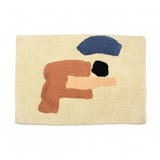 Sleeping giant bathmat