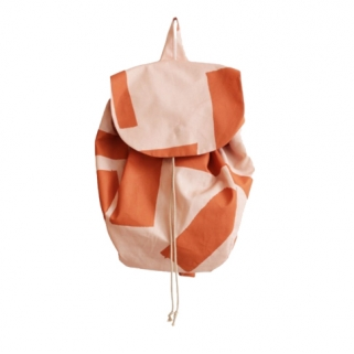 Blush/rust backpack
