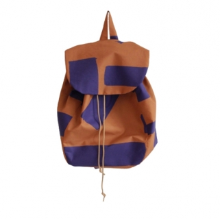 Purple/rust backpack