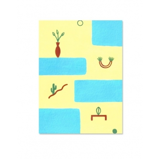 Small plants postcard