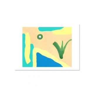 Abstract paintings with...