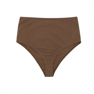 Chocolate high waisted brief