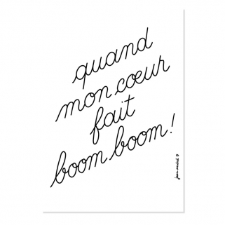 Affiche Jean André x Boom Boom