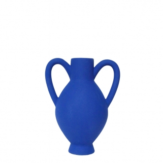 Luxor royal blue vase