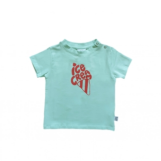 T-shirt Blue Ice cream
