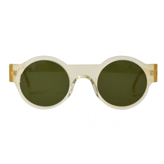 Gena transparent sunglasses