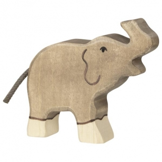 Elephant, small, tall horn