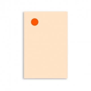 Bloc-notes orange dot