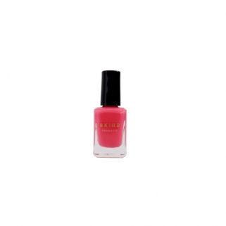 Hot pink vegan nail polish