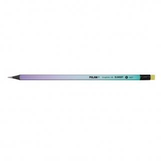 Purple HB graphite pencil...
