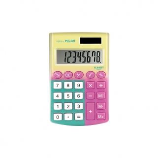 Calculatrice jaune