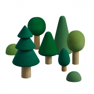 Wooden forest