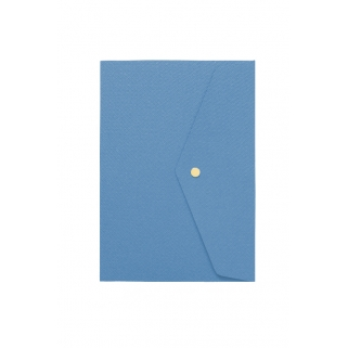 Carnet de notes bleu denim