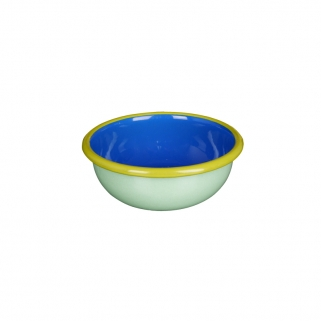 Mint colorama cobalt bowl