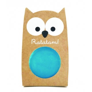 Blue owl bouncing ball