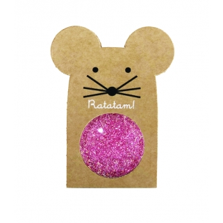 Glittery pink mouse...