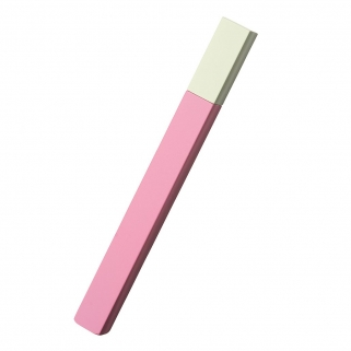 Briquet Queue rose/blanc