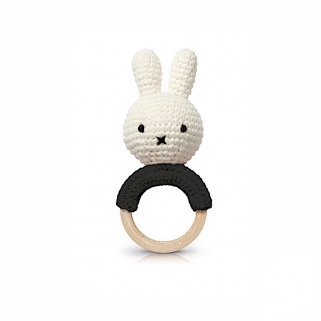 Miffy black teether