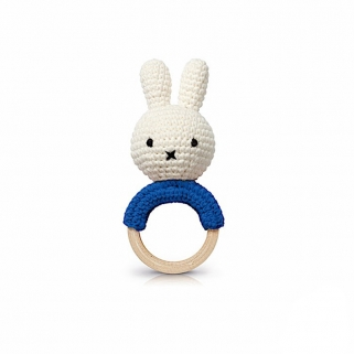 Miffy blue teether