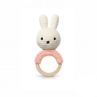 Miffy pink teether