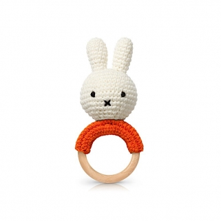 Hochet Miffy orange