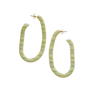 Margot rhubarb earrings