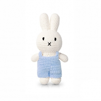 Miffy baby blue overalls