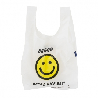 Smiley shopping bag