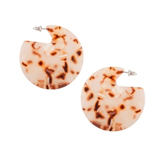 Clare blush earrings